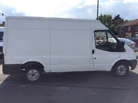 FINANCE AVAILABLE FORD TRANSIT T280 MWB MED ROOF YEAR 2008 READY TO WORK NO VAT