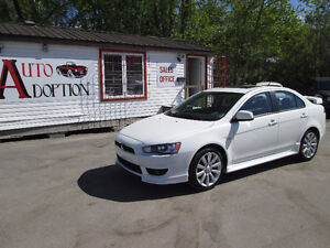 2010 Mitsubishi Lancer GTS with New Tires