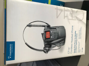 CT14 Cordless Headset Phone - Unopened