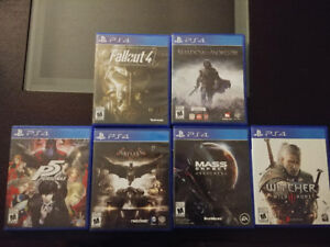 PS4 Games in Excellent Condition