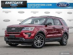 2018 Ford Explorer Sport Executive Unit **COSTCO**