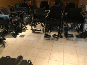 Folding Wheelchairs for sale