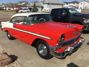 Classic 1956 Chevy Belair Coupe PS, PB, PW, PA.