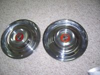 Two  Wheel Discs,   for 1953/54  CADILLAC.  MINT CONDITION