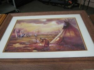 NATIVE PICTURE IN FRAME Windsor Region Ontario image 1