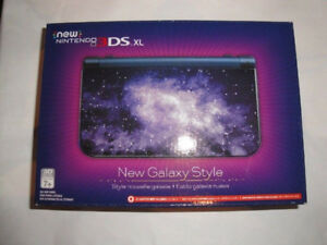 Brand new and sealed New Nintendo 3DS XL Galaxy Edition Console