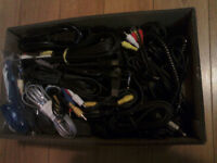 box of random cords. Need gone asap!