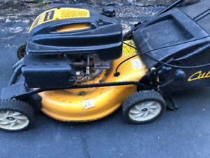Cub Cadet Gas Lawn Mower & String Trimmer