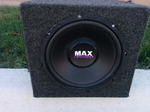 """10"""" SUBWOOFER in a non Ported Box"""