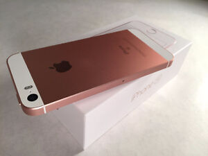 Apple iPhone SE Rose Gold Fido 16GB