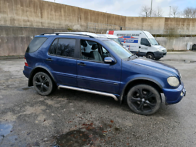 Mercedes ml270 51plate spares or repair
