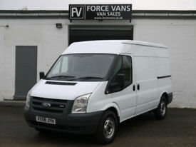 FORD TRANSIT T350 2.2 140BHP MWB MID LOGISTICS DELIVERY PANEL DAY WORK VAN