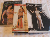Belly Dance Instructional DVD:s, New