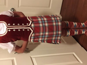 Kilt Outfit (Highland Dance) Approx. fits 9-11 year old