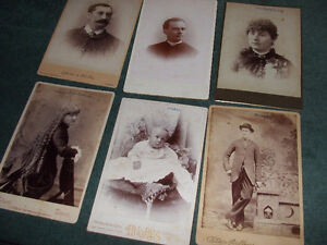 1800s cabinet cards London Ontario image 6