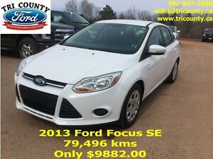 2013 Ford Focus SE 4D Sedan