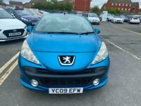2009 09 PEUGEOT 207CC 1.6 HDi SPORT HARDTOP CONVERTIBLE.NEW CLUTCH.4 NEW TYRES .