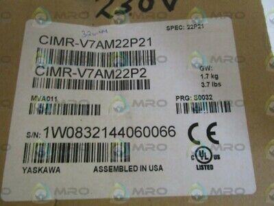 Yaskawa Drive Cimr-v7am22p2 New In Box