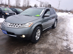2006 nissan murano awd 172k  certified etested pattersonauto.ca Belleville Belleville Area image 1