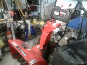 SNOW BLOWER WITH WARRANTY FROM $145