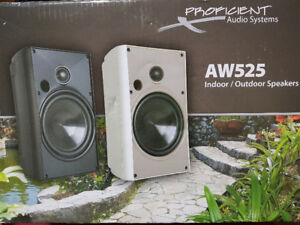 Outdoor/Indoor Speakers - Proficient Audio System - AW525