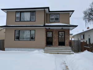 Desirable River Heights duplex Rent incl. Heat and Water