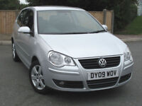 Volkswagen POLO 1.2 Match 70ps 2009 with S/Hist
