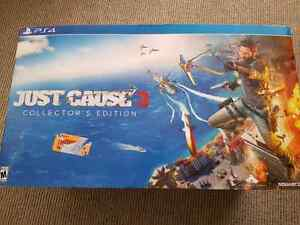 Just cause 3 collectors edition for the ps4