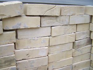 recaimed yellow brick 250  at .25  plus lots of extras for free