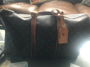 Well-Used Louis Vuitton Keepall 50