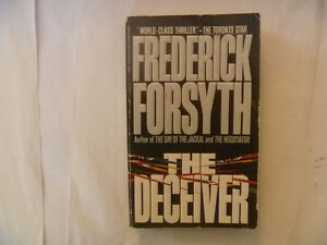 FREDERICK FORSYTH Paperbacks - many to choose from