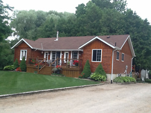Log Cottage/Home (bungalow) private sale