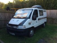 Peugeot boxer 2.0 hdi turbo diesel camper conversion