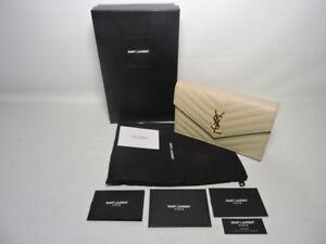 Saint Laurent envelope chain hand bag
