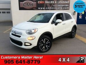 2016 Fiat 500X Sport  AWD HEATED SEATS BLUETOOTH POWER GROUP