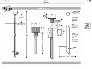 Deck screw piles,deck beam supports,pilings