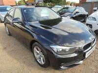 2012 12 BMW 3 SERIES 2.0 320D EFFICIENTDYNAMICS 4D 161 BHP NEW SHAPE DIESEL FULL