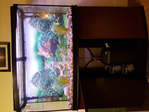 85 gallons fishtank with light stand and accessories!!!