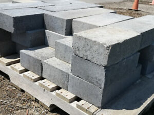 thick pavers, 4 inch, new
