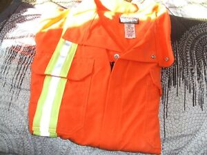 BRAND NEW- COVERALLS AND SAFETY VESTS