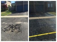 PETRO'S SEALING- driveway sealing and repairs