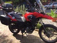 2011 BMW gs650g 4800 miles extras mint bike finance etc £3299