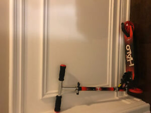 HALO scooter- red and black and great for kids