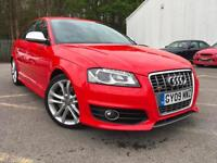 2009 AUDI S3 TFSI SPORTBACK QUATTRO 5DR + FULL LEATHER+BOSE SOUND SYSTEM