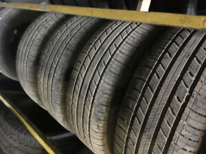 225-60-16 bal and install a/s tires $340 TAX IN