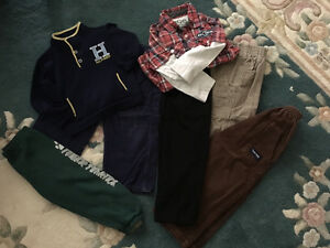 Boy winter clothing lot size 3-4