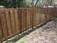 COMPLETE DECKS AND FENCE