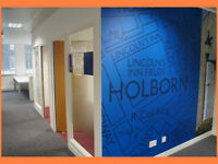 ( WC1V - Holborn ) Serviced Offices to Let - £ 400