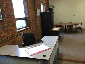 Desks for Rent in the Heart of Beautiful Downtown Charlottetown
