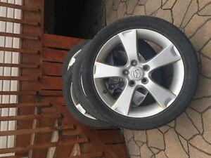 """Mags d'origine 17"""" Mazda 3"""